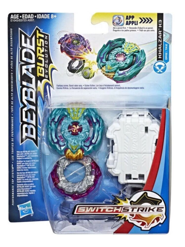 Hasbro Beyblade Burst Evolution Switch Strike Khalzar K3