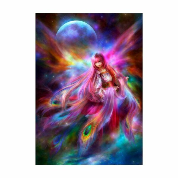 DIY 5D Diamond Painting Fairy Embroidery Cross Crafts Stitch Home Wall Decor