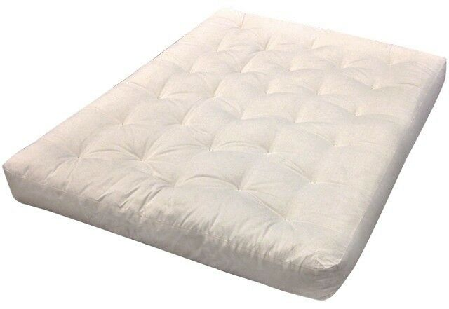 All Cotton 21 X 39 In Futon Mattress Natural