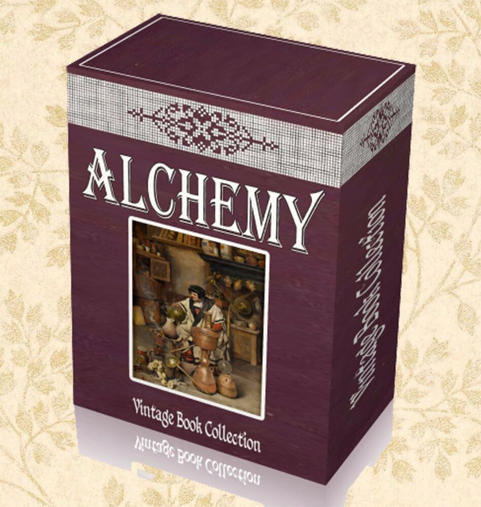 220 Antique Alchemy Books On Dvd Ancient Occult Chemical Formulas