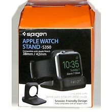 Spigen Apple Watch Stand with Night Stand Mode S350 for Apple Watch 38mm 42mm