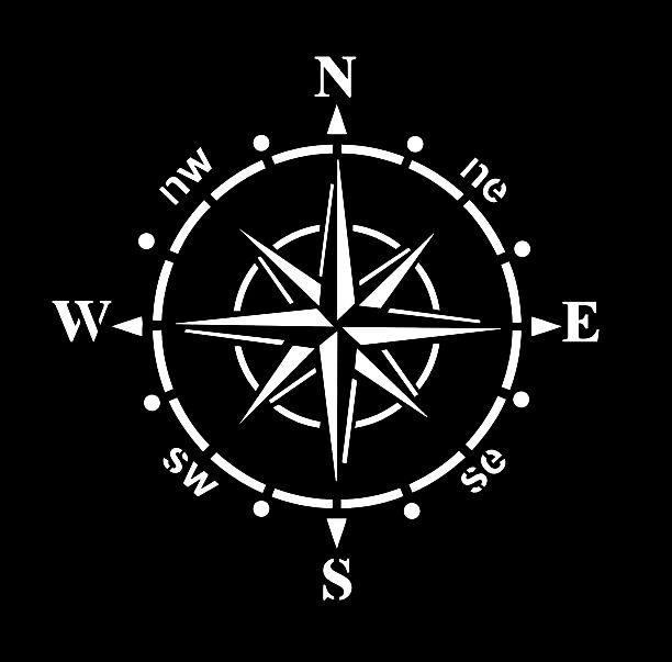 high detail airbrush stencil ships compass FREE UK POSTAGE