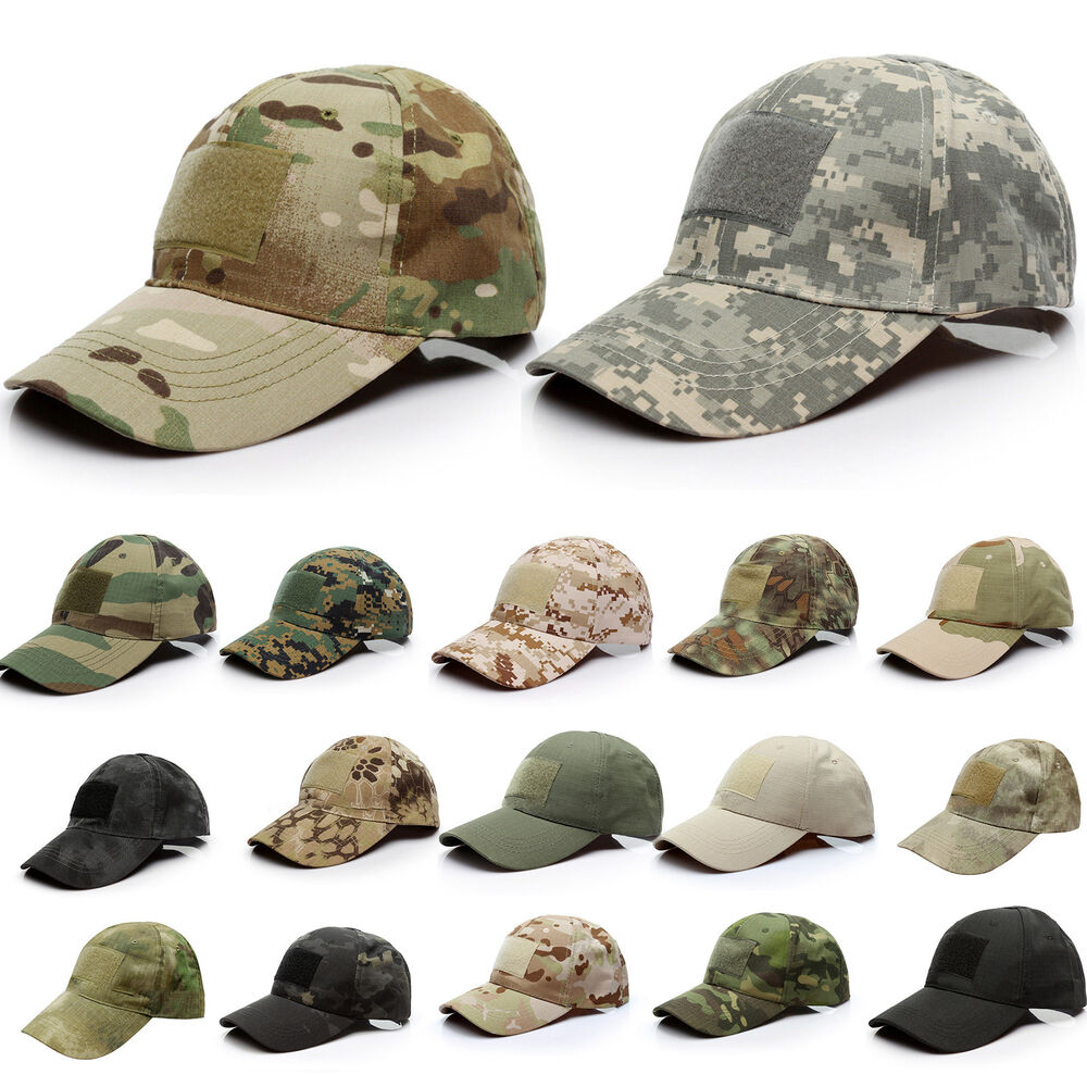 c7c6c71ae73 Details about Mens Tactical Operator Camouflage Baseball Hat Military Army Special  Forces Cap