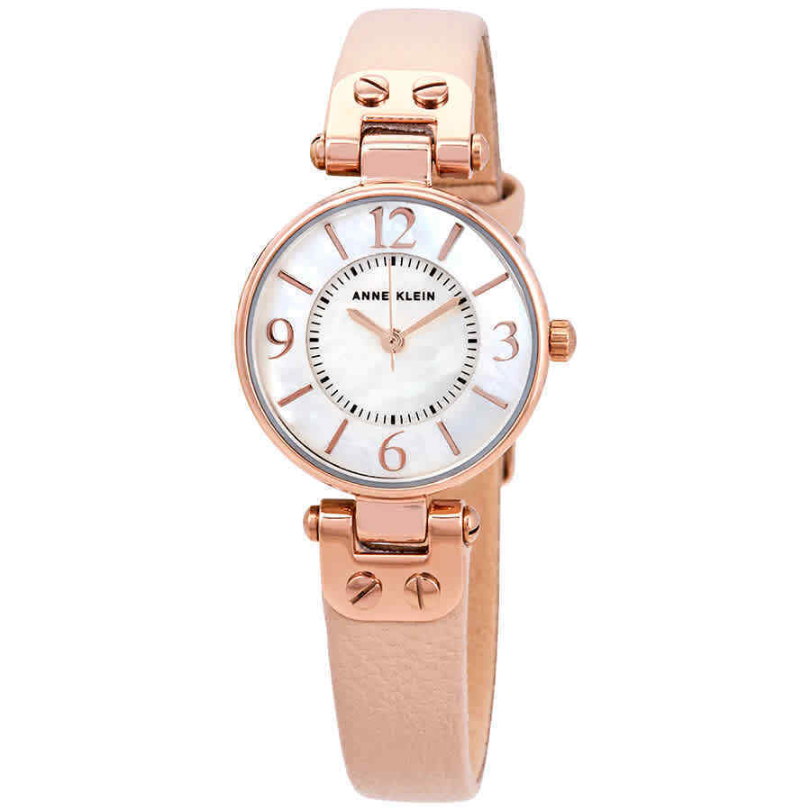 3c2ad492e1f Anne Klein Mother of Pearl Dial Ladies Watch 10-9442RGLP 696578546868