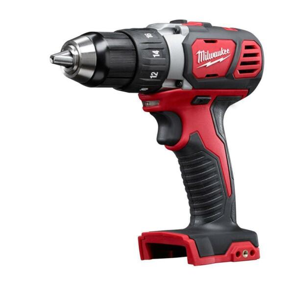 Milwaukee 2606-20 M18 Compact Cordless 1/2-Inch Drill Driver (Bare Tool)