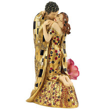 The Kiss Sculpture Statue by Gustav Klimt Replica Reproduction