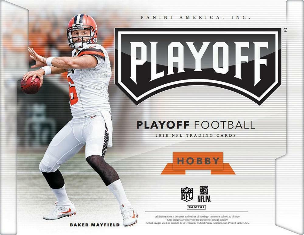 Details about 2018 Panini Playoff Football Cards Pick From List 151-300  Includes Rookies 7207110b5