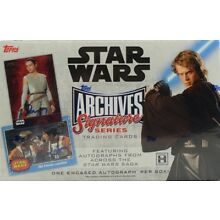 2018 TOPPS STAR WARS ARCHIVES SIGNATURE SERIES HOBBY SEALED BOX - IN STOCK!