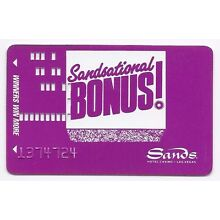 Las Vegas SANDS Casino Hotel  SLOT CARD Players Club - PURPLE