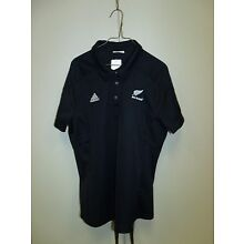 NEW ZEALAND ALL BLACKS RUGBY TEAM POLO LADIES CUT SIZE