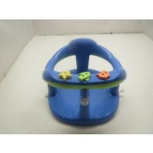 AQUABABY THERMOBABY Blue Safety Bath Seat Intant Baby Chair Plastic Tub Ring