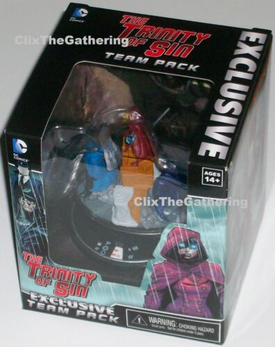TRINITY OF SIN WKD-T001 TEAM PACK DC HeroClix SDCC Convention Exclusive