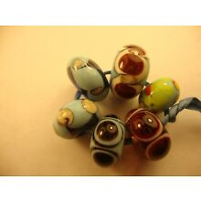 Cindy Beads Handmade Lampwork Glass Handcrafted Artisan Loose Bead SRA  cc36