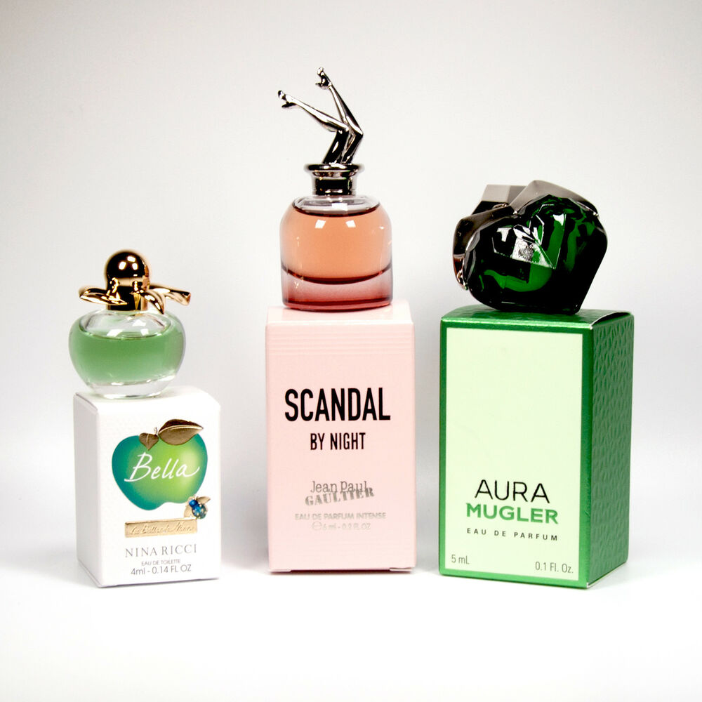 Gaultier Perfume 3 4jal5r By Night Miniature Bella Scandal Ricci Mini 5LA4q3Rj