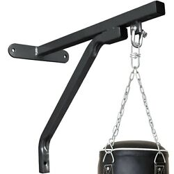 Kyпить Heavy Duty Punching Bag Wall Bracket Steel Mount Hanging Stand Boxing MMA BLACK на еВаy.соm