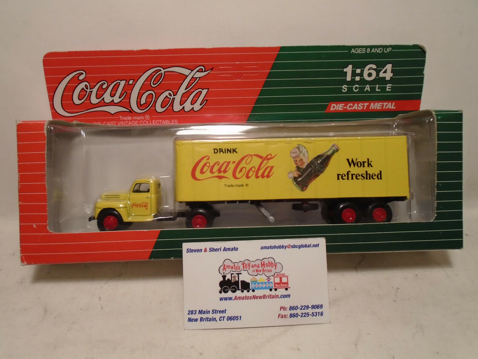 Upc 019538641548 C55401 Die Cast Vintage Collectable Coca Cola
