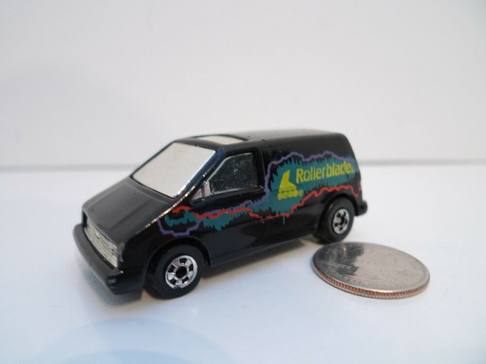1985 Mattel Hot Wheels 1:64 Black Ford Aerostar ...