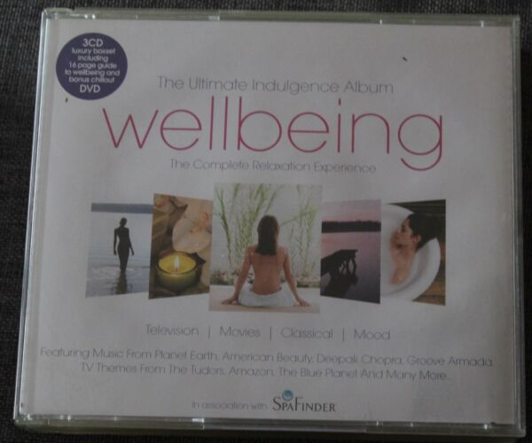 Wellbeing, ultimate indulgence album - complete relaxation experience, 3CD + DVD