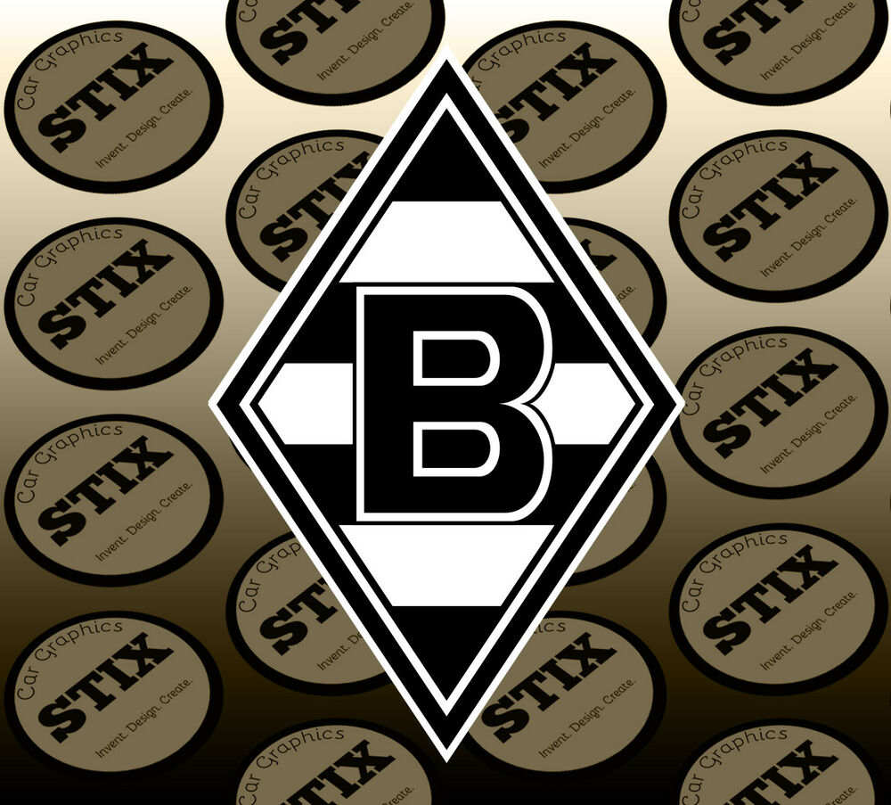 Details about borussia monchengladbach logo color vinyl sticker car window hood bumper decal
