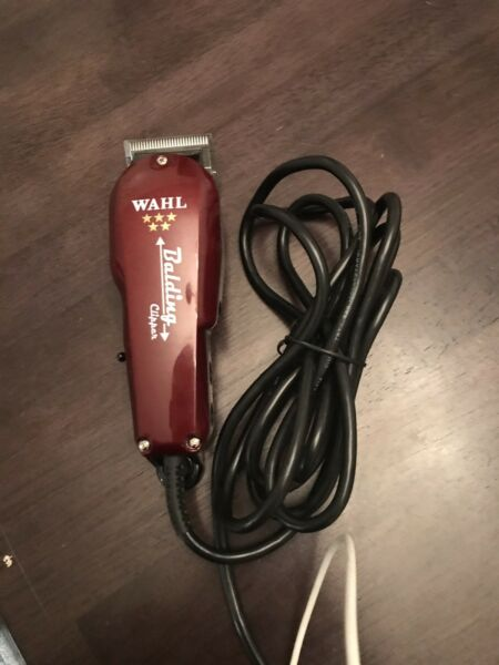 Wahl Professional 5-Star Balding Hair Clipper Barber Trimmers 8110 Corded 5-Star