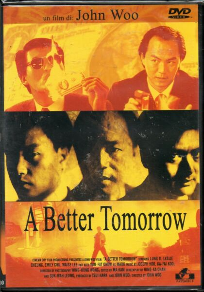 A better tomorrow - dvd - nuovo
