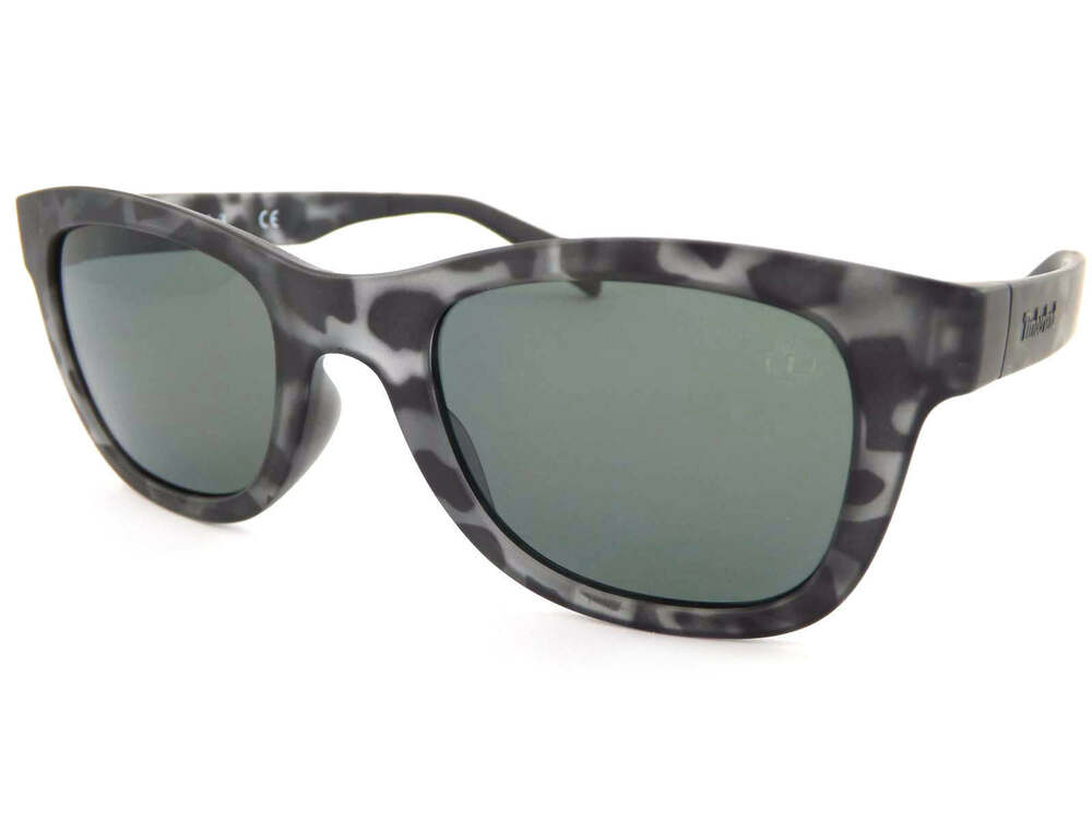 28d4fe2bf Details about TIMBERLAND polarized Sunglasses Matte Grey-Black Tortoise/  Green Lens TB9080 56D