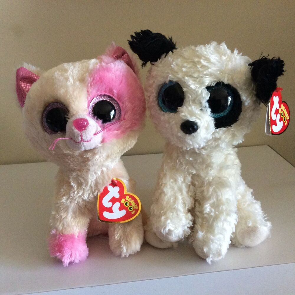 ca134749e5c Details about Ty Beanie Boos ANABELLE the Cat   GATSBY the Dog Barnes and  Noble Exclusives 6