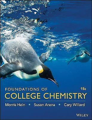 Foundations of College Chemistry by Susan Arena,Cary Willard and Morris..(PDF)