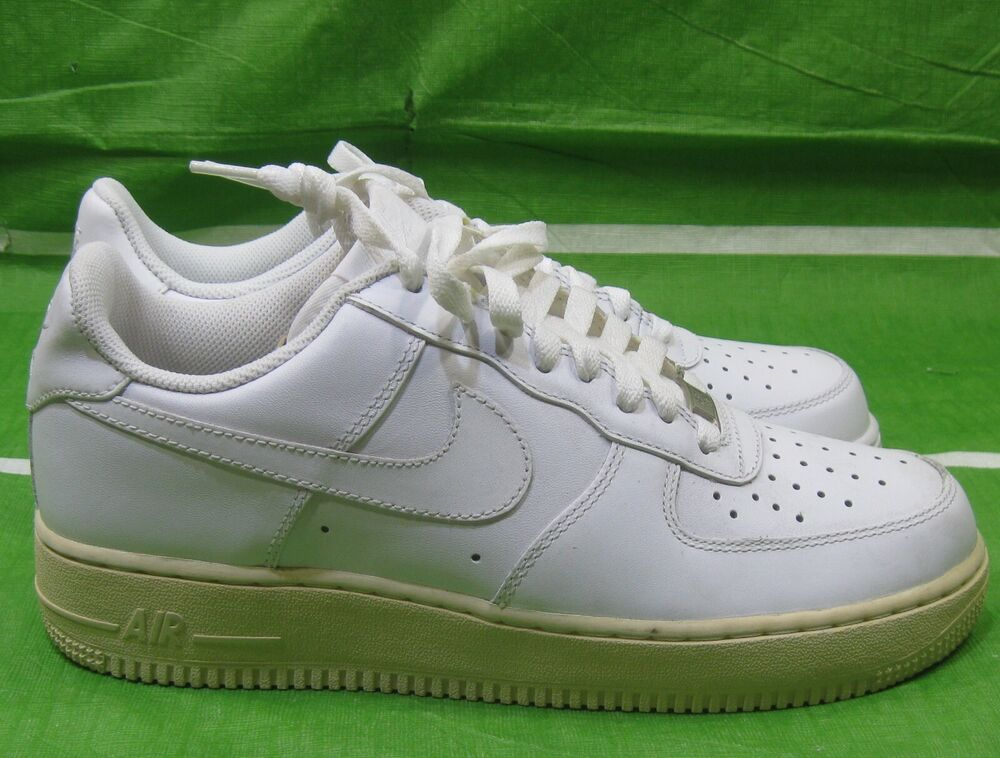 premium selection ae53a c5033 Details about Nike Air Force 1 07 Men s Shoes White White 315122-111 Size  8.5