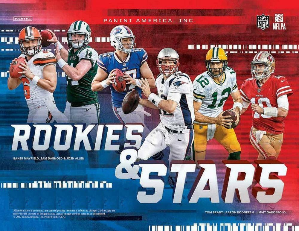 dcf1d566cb4 Details about 2018 Rookie and Stars (Panini) Football Cards Pick From List  Includes Rookies