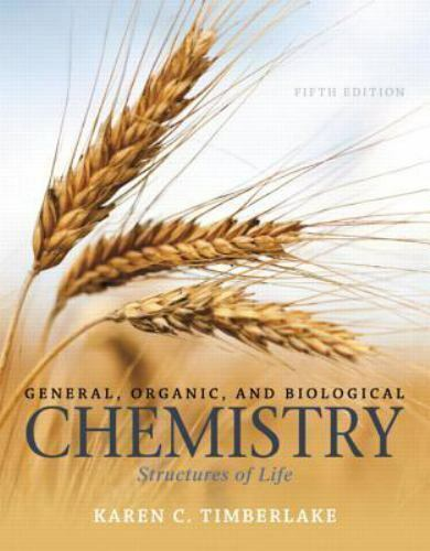 General, Organic, and Biological Chemistry: Structures of Life 5th Ed EB00K