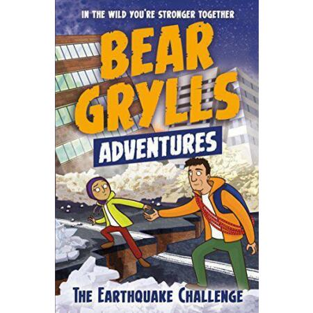 img-A Bear Grylls Adventure 6: The Earthquake Challenge by Grylls, Bear, NEW Book, F