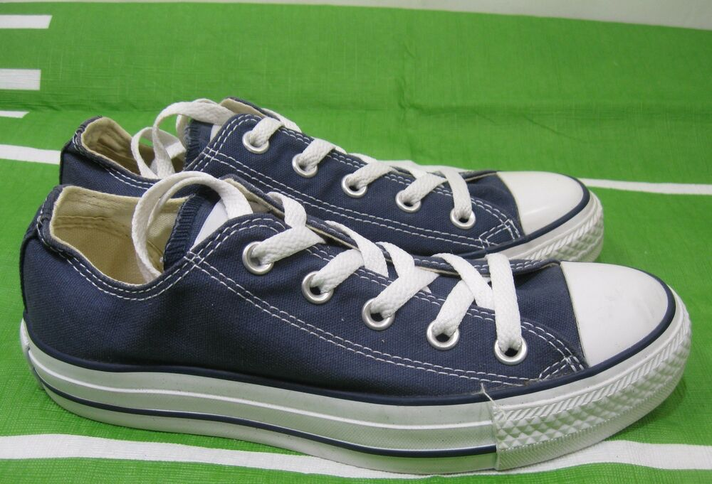 9b357a4f0907 Details about M9697 Converse Shoes Chuck Taylor Ox All Star Blue White  Sneakers Men 4 Wo 6