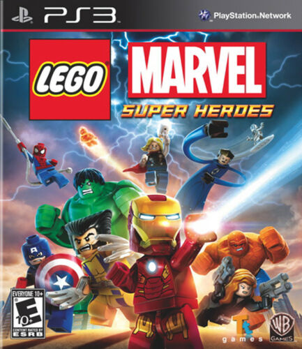 LEGO Marvel Super Heroes PS3 New PlayStation 3, Playstation 3