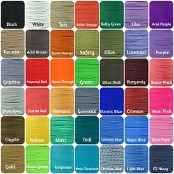 Kyпить 550 Paracord Type III 7 Strand Parachute Cord 10,25,50,100ft (Paracord Planet)  на еВаy.соm