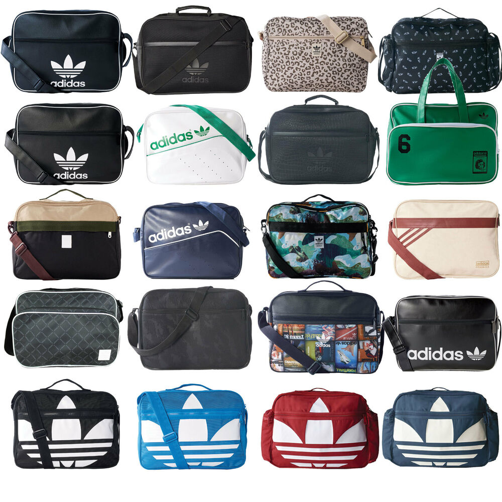 8317bb9acb Details about Adidas Originals Airliner Messenger Bag Shoulder Bag Handbag