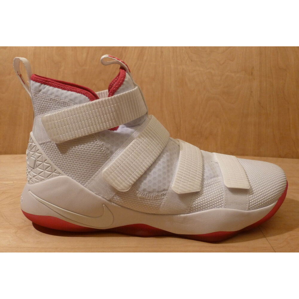 aa8c9b650695 Details about NIKE Lebron Soldier XI 11 Kay Yow White Pink 897644-102 Mens  Size 13.5