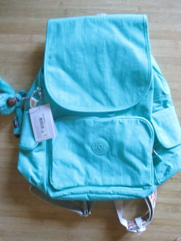 4396e2fa7 Details about NEW* Kipling Ravier BAG TOTE STUDENT BACKPACK Green $124  Retail Back To School