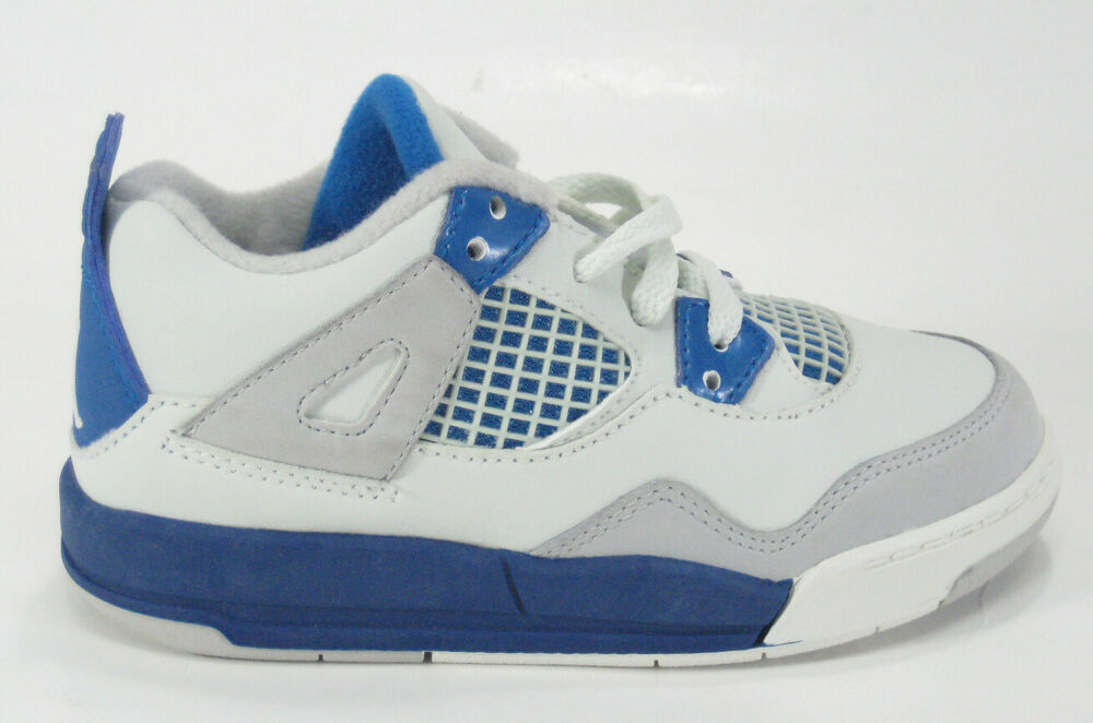3036f12d19b Details about 2006 Nike Air Jordan 4 Retro Toddlers Child SZ 9C 308500-141  Off White Military