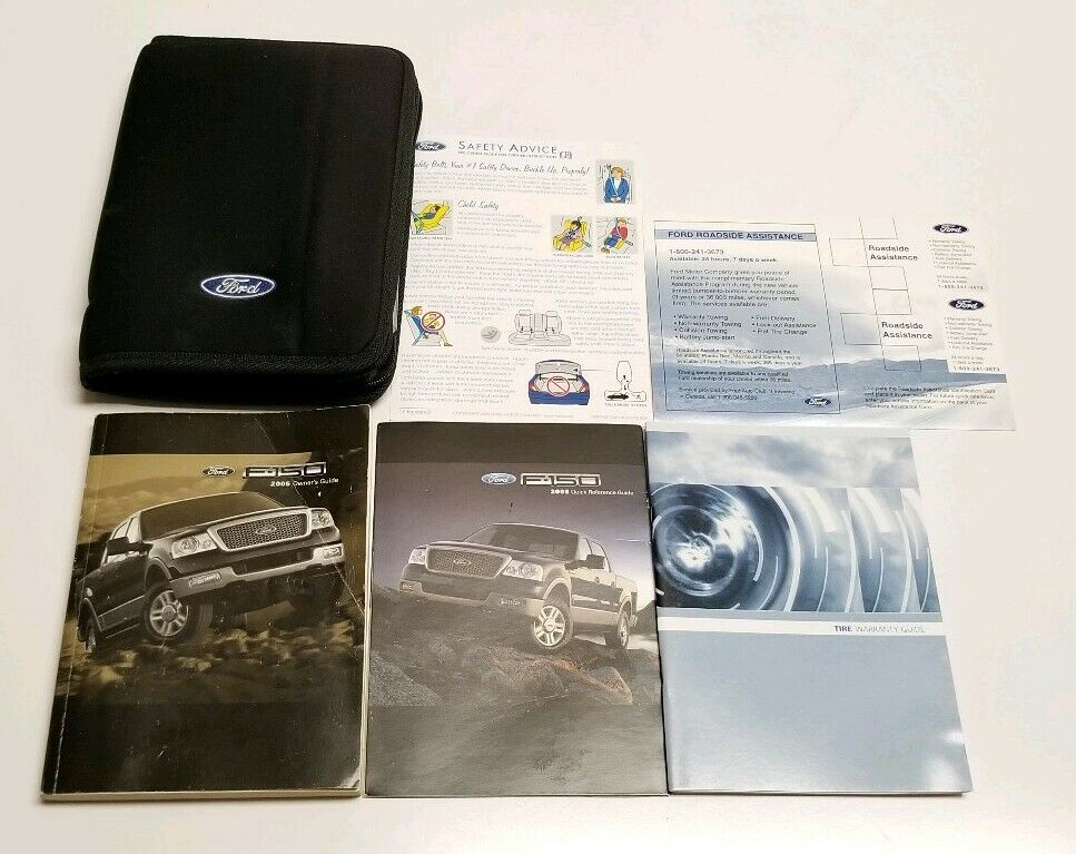 ford   owners manual pickup truck xl xlt stx fx