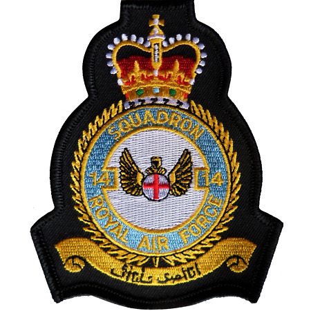 img-No. 14 Squadron Royal Air Force RAF Crest MOD Embroidered Patch