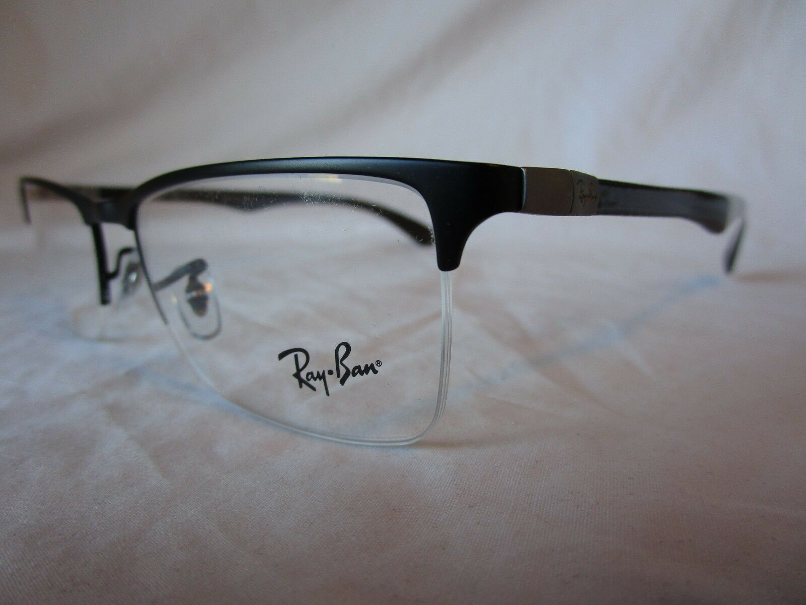90753062fd5a0c EAN 8053672187618 product image for Ray Ban Carbon Fiber Glasses Frame Rx8413  2503 Black 54- ...
