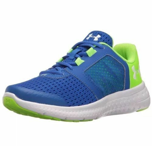 1c728c37c Details about Under Armour Boys Preschool BPS Micro G Fuel RN Running Shoes  Blue 1285439-907