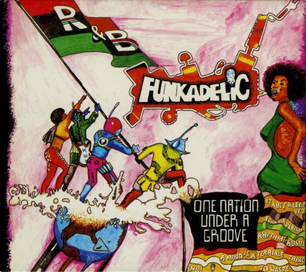 FUNKADELIC  one nation under a groove / 2003 DIGIPACK REMASTERED