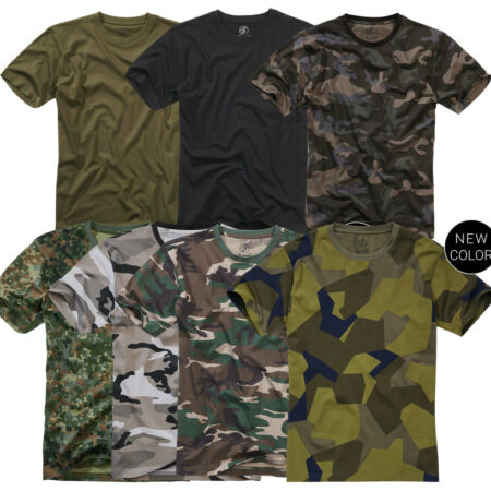img-Brandit Camouflage T-Shirt Bundeswehr Army Camo Camouflage Militaire Bdu Armée