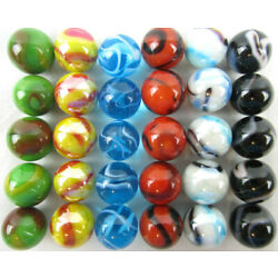Kyпить 30 DELUXE Solid Glass Replacement Marbles Aggravation Chinese Checker Game 16mm на еВаy.соm