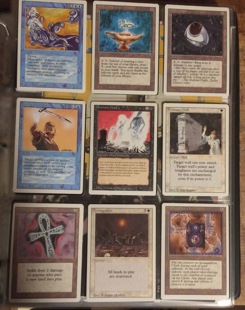 Complete Set Revised Edition Mtg 3rd Third Dual Lands Nm
