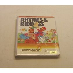 Rhymes & Riddles by Spinnaker Software for Atari 400/800 - NEW