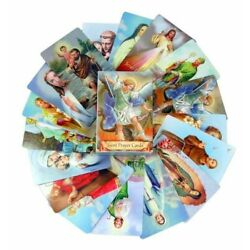 Kyпить Pack of 54 Assorted Holy Cards with Catholic Saints and Prayers на еВаy.соm