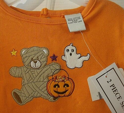 Nursery Rhyme Infant Boy Two Piece Halloween Outfit Size 3-6 Months NEW